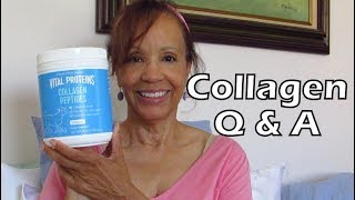 COLLAGEN Pt. 2: Your Questions Answered and Update! | Mature Beauty & Health