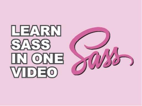 SASS Tutorial - YouTube