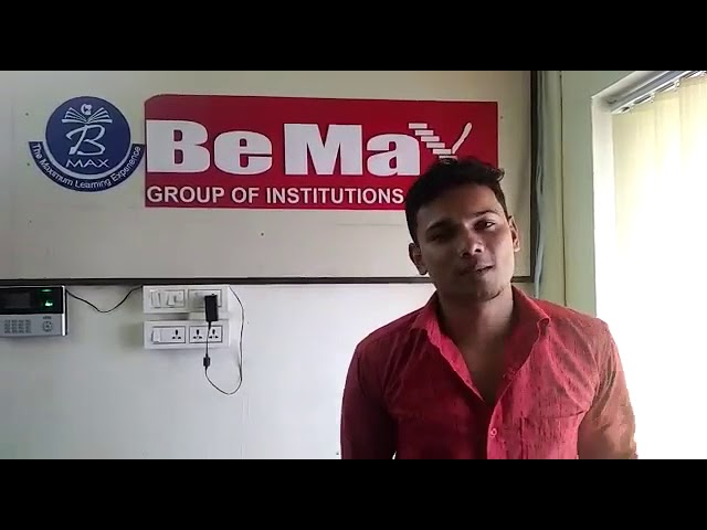 Binoy Basil IELTS, Testimonial BeMax Academy- Best Coaching for IELTS, OET Centre in Kerala