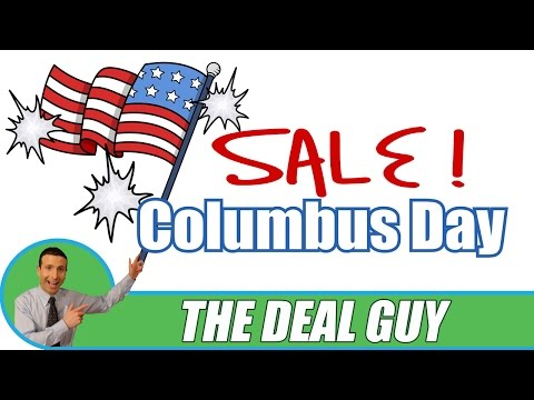🛍 Columbus Day 2016 Sales ◄ The BEST guide for Savings!
