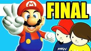 Super Mario 64: #24 A BATALHA DO BEM CONTRA O MAL!!! - Cartuchito