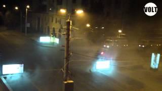 Пожар в переходе Волгоград перекресток по улице Мира