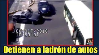 Detienen a ladrón de autos en CDMX