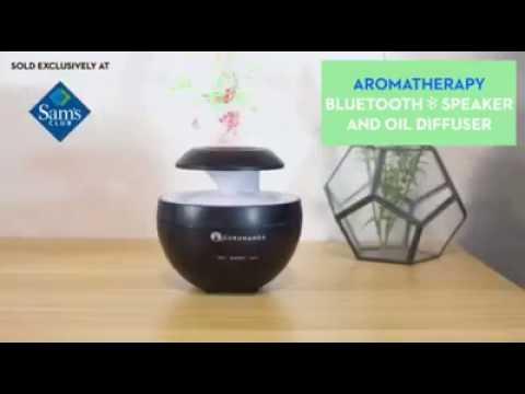 bluetooth-ultrasonic-diffuser-speaker-+-3-essential-oils-  -sam's-club-special