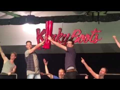 Behind the scenes - Kinky Boots, Melbourne.