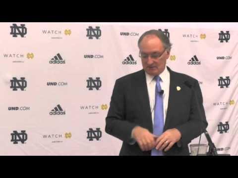 Jack Swarbrick Discusses Future Notre Dame schedule