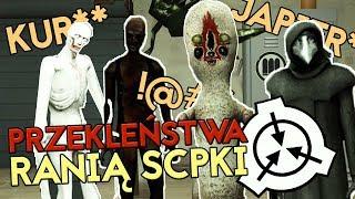 NOWY UPDATE: PRZEKLEŃSTWA RANIĄ SCPKI! | SCP: Secret Laboratory [#56] (W: EKIPA)