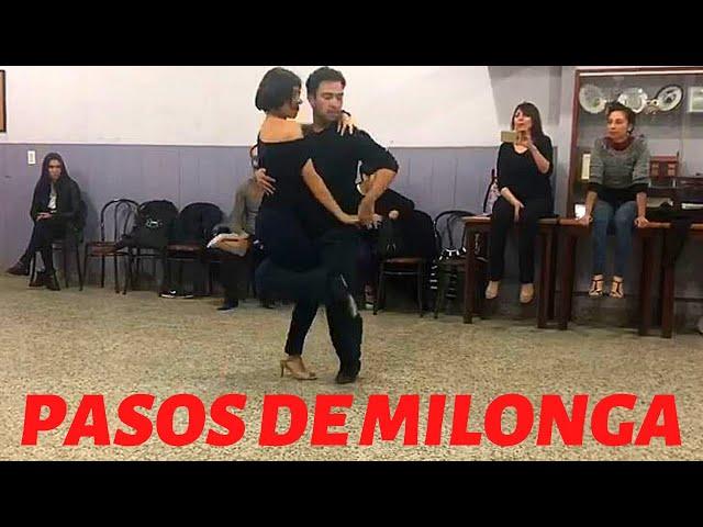 Aprender pasos de milonga, Noeia Colletti, Pablo Georgini en #Airesdemilonga