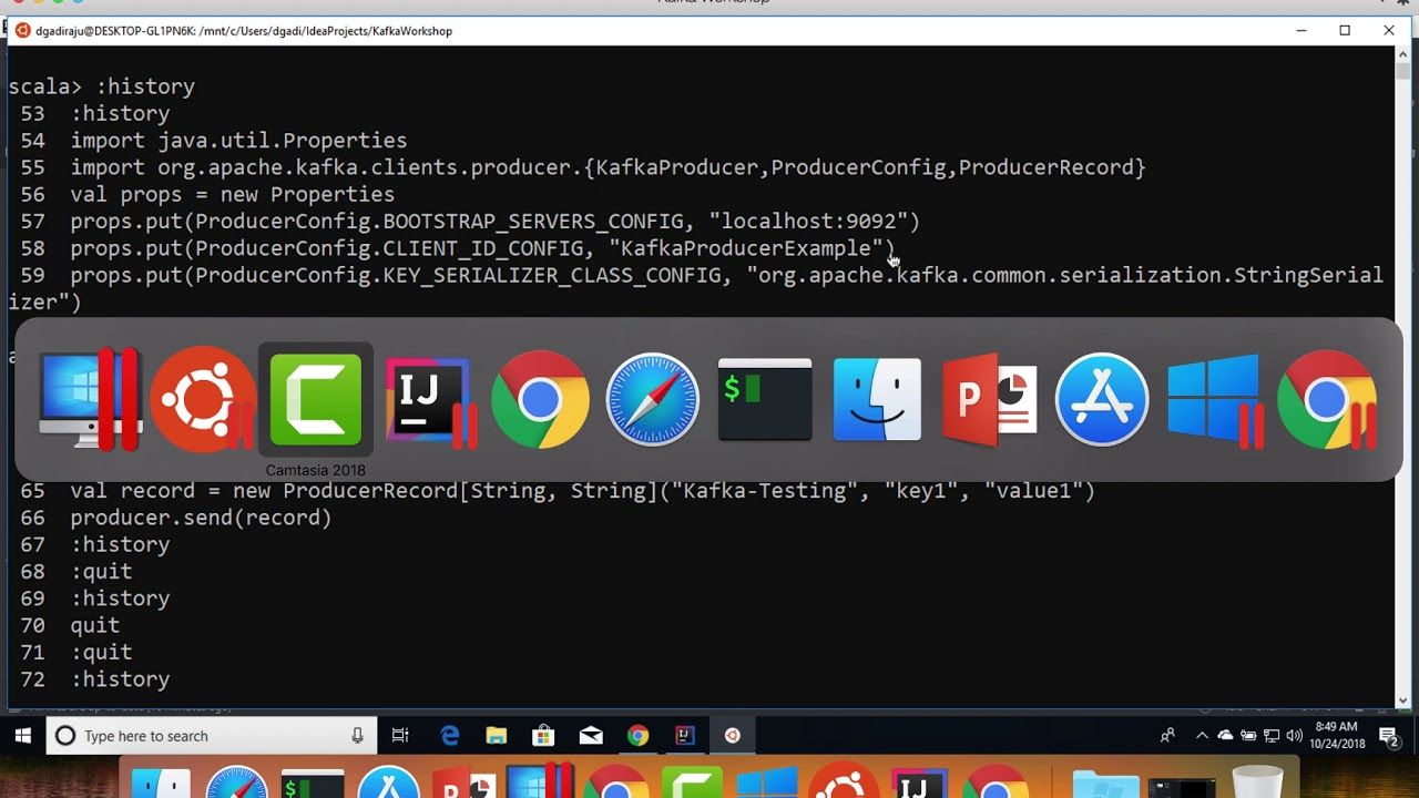 Using Producer and Consumer APIs – Scala | | Kaizen