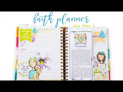 Faith Planner | May Week 4 | Beloved Society Printable