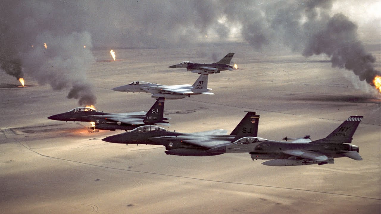 Retired Military Advisor • Reflects on Operation Desert Storm