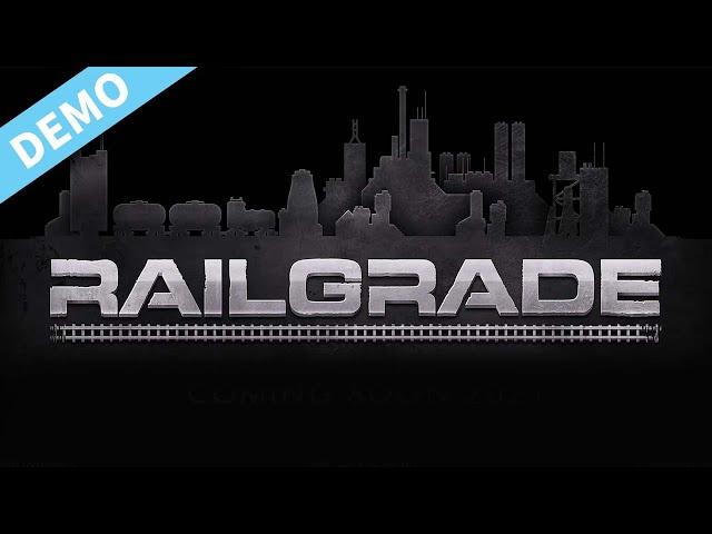 New Indie railway network construction simulator | RAILGRADE | PC DEMO