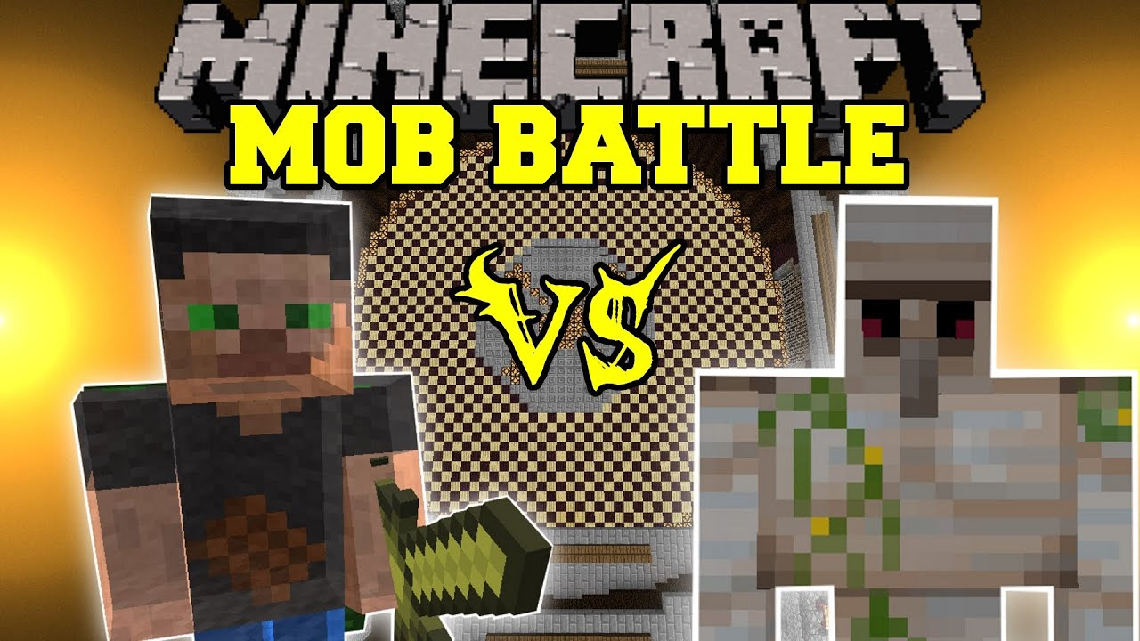 Specter Lord Vs. Iron Golem - Minecraft Mob Battles ...