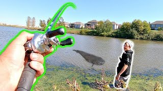 MASSIVE Catch of a Lifetime while BANK FISHING!!! (Biggest Fish EVER)