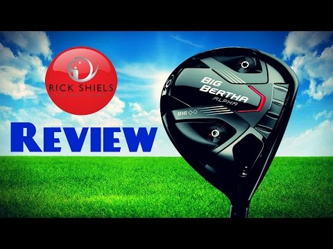 CALLAWAY BIG BERTHA ALPHA 816 DOUBLE BLACK DIAMOND DRIVER REVIEW