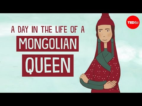 Video image: A day in the life of a Mongolian queen - Anne F. Broadbridge