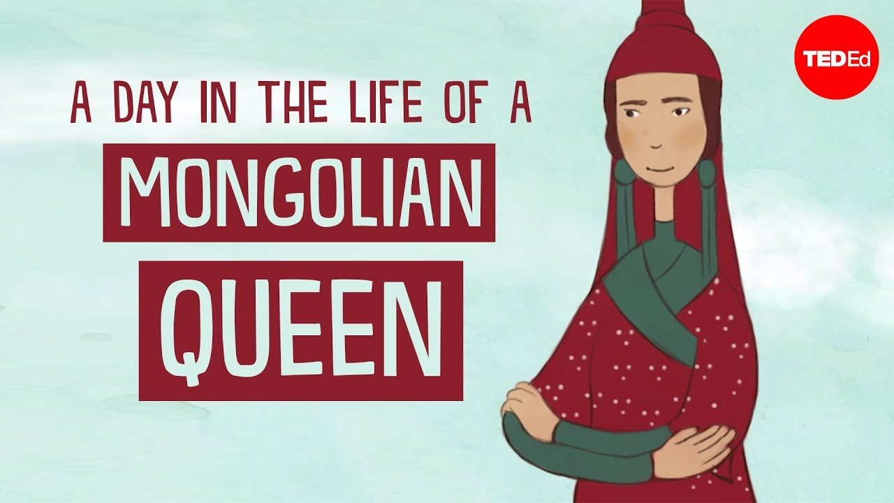 A day in the life of a Mongolian queen - Anne F. Broadbridge