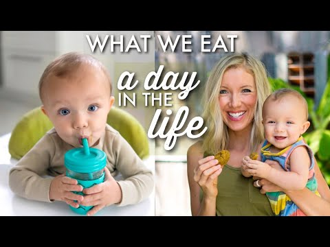 What We Eat In A Day: Vegan Breastfeeding Mom & Baby