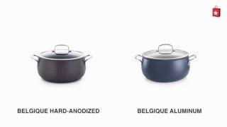 Belgique Hard Anodized 7.5 Qt. Covered Dutch Oven Comparison Video