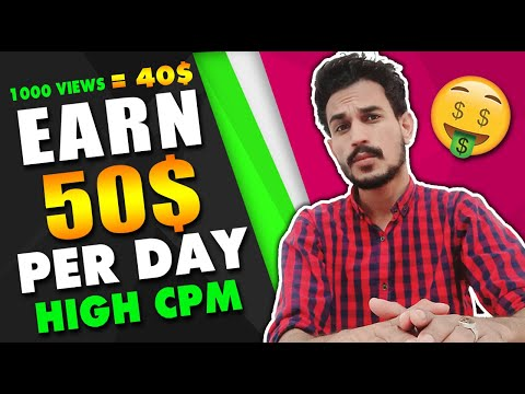 EARN MONEY FROM MOBILE WITHOUT INVESTMENT - DAILY EARN 50$ - HOW TO EARN MONEY ONLINE 2019 💵 💰