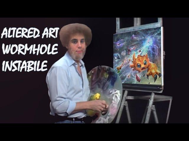 Wormhole Instabile | Keyforge Altered Art #2