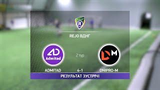 Обзор матча Admitad 4 1 Dnipro M Турнир по мини футболу в Киеве