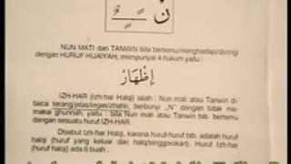 T. 15. BELAJAR  TAJWID  MAJELIS TA'LIM RKM  BUKU HIJAU - ARIRKM