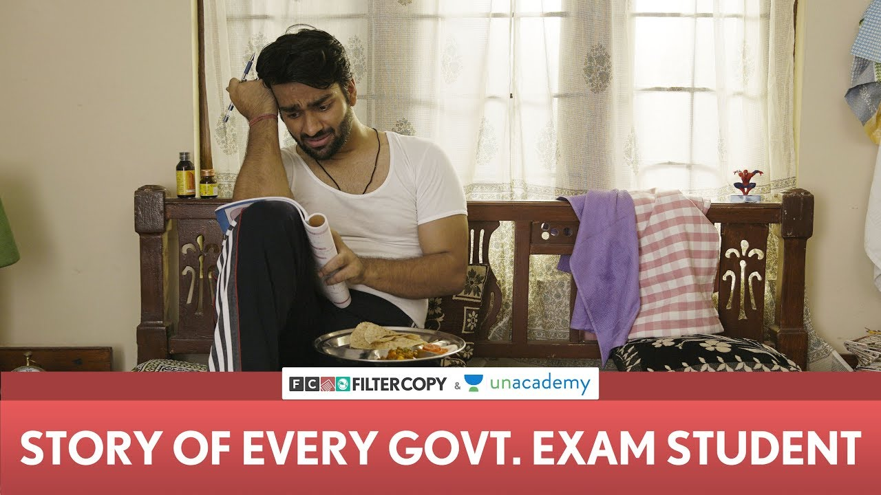 FilterCopy   Story Of Every Government Exam Student   Ft. Chandan Anand