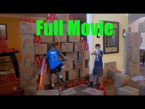 Nerf War: House of Cups | FULL Movie |