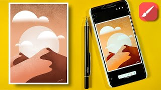 How to make pro level Illustration in Infinite Painter (android)