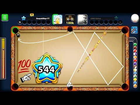8 Ball Pool Hardcore Trickshots OMG 1170 Billion Coins Lord Bahaa 544 Level -Trickshots-