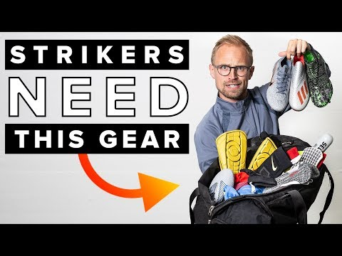 TOP 5 GEAR FOR STRIKERS | Must Have Football Gear