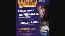 Travis Matte Tiger Tailgate Party