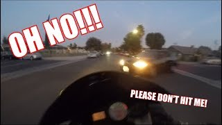 Motorcycle crash - I was hit by a car!