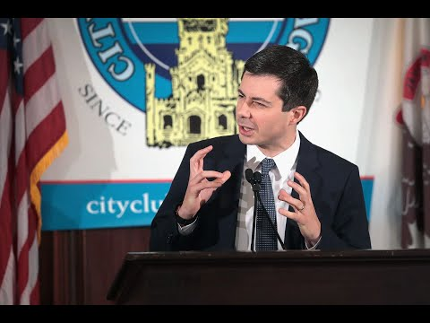 Pete Buttigieg talks Trump, abortion ban, presidential election at Chicago's City Club