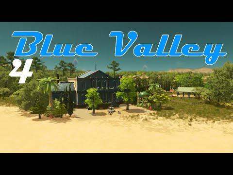Cities Skylines No. 4 - Blue Valley: harbor & some fields