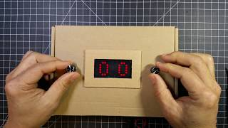 8x16 LED Matrix Pong Game (2 paddles per player)