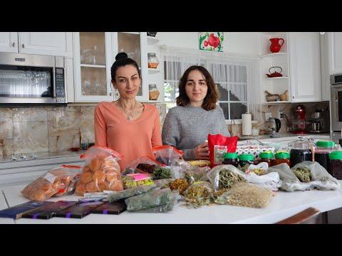 Посылки из Армении от Наших Бабушек Дедушек - Эгине - Семейный Влог - Heghineh Vlogs In Russian