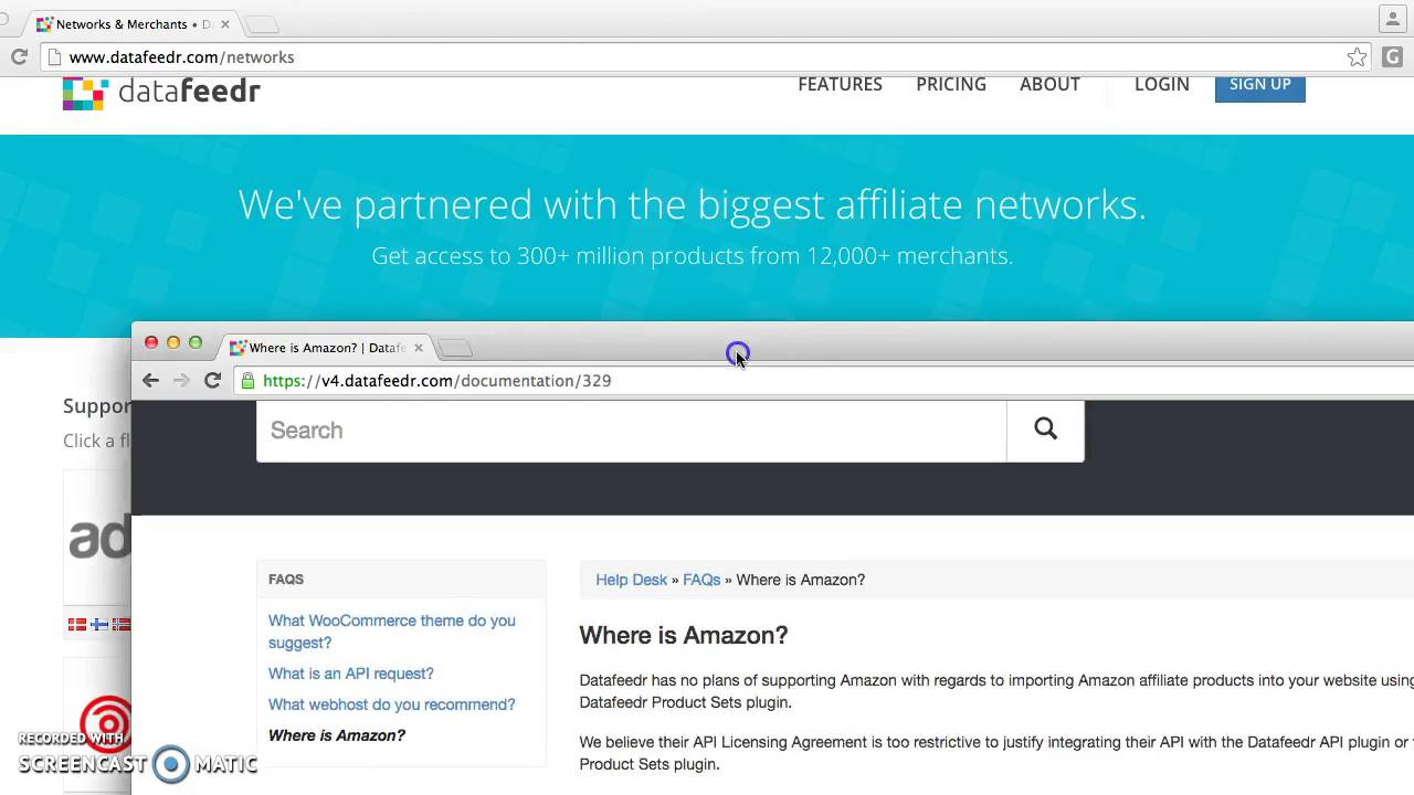 Datefeedr Plug In Review 2016: Does Not Support Amazon Affiliate