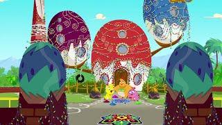 Eena Meena Deeka  Diwali Celebrations  Funny Cartoon Compilation  Cartoons for Children