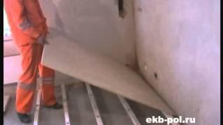 видео Как сделать пол из фанеры своими руками