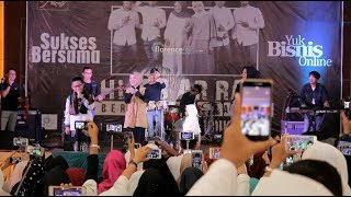 Nissa Sabyan kaget Syekh Rasyid Nyelonong Duet Bareng NISSA SABYAN di Pekanbaru