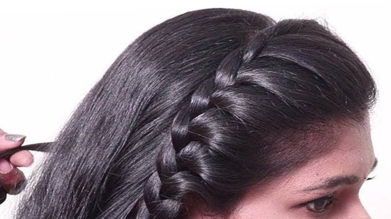 easy Ways To Style Open Hair Hairstyle | Hair Style Girl | Cute Hairstyle | Open Hairstyles