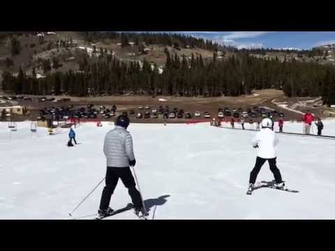 Maritz on skis.  Eldora Ski Resort, Nederland , CO