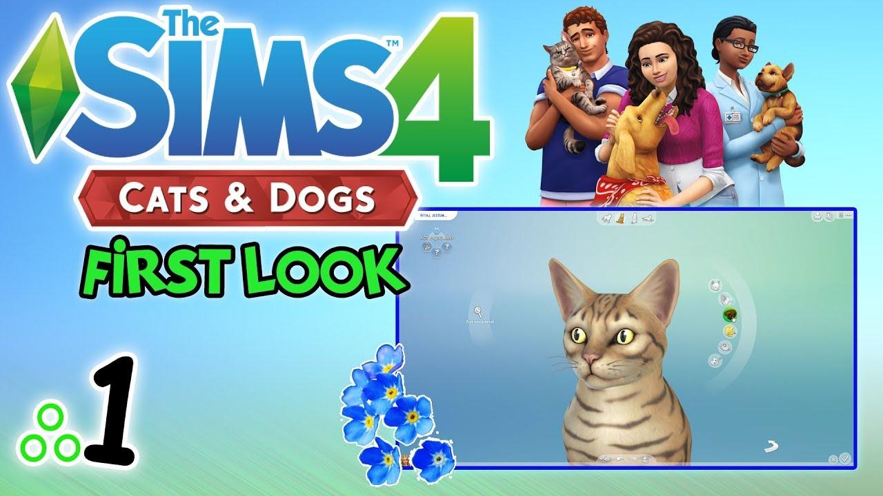 """First Look #75: The Sims 4: Psy i Koty odc. 1 – """"Tworzenie zwierzaków"""" [PL]"""
