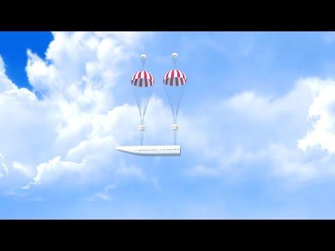 Ukraine Detachable Cabin Aircraft Simulation [1080p]