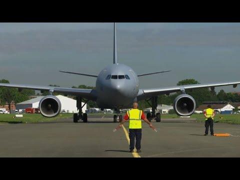 Le Bourget: le futur avion de combat européen dévoilé | AFP