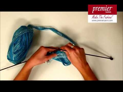 Knitting With Starbella Lace Youtube