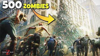 World War Z - SWARM ENGINE Extended Gameplay - FASTEST ZOMBIE GAME - (Xbox One, PS4, PC)