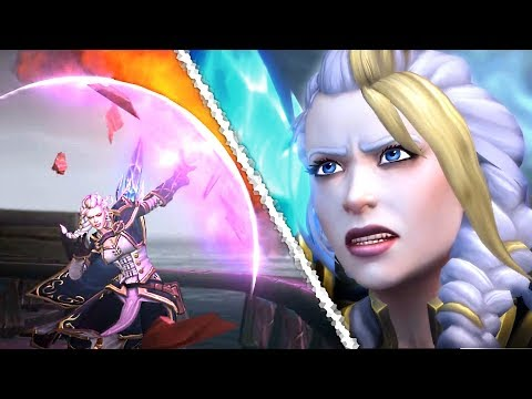 Battle of Dazar'alor Cinematics 🔥 Jaina's Siege, Rastakhan's Death, Lead up Dialogue and Cutscenes
